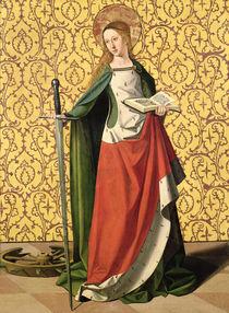 St. Catherine of Alexandria  von Josse Lieferinxe