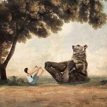 My friend, the Yoga Bear by Paula  Belle Flores