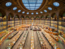National Library of France in Paris von Michael Abid