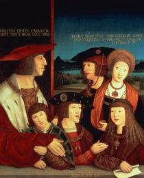 Maximilian I  by Bernhard Strigel