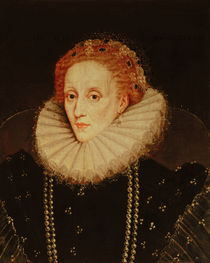 Portrait of Queen Elizabeth I  by the Younger Marcus Gheeraerts