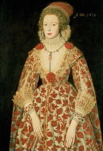 Portrait of a Lady by the Younger Marcus Gheeraerts