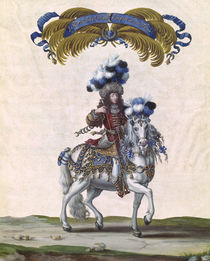 The Prince of Conde as the Emperor of Turkey by the Younger Israel Silvestre