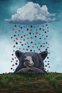 A Bear's Dream by Paula  Belle Flores