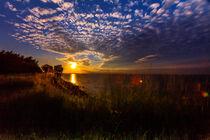 Sonnenuntergang am Brodtner Ufer von image-eye-photography