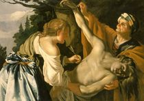 The Nursing of Saint Sebastian by called Dirk Theodore van Baburen