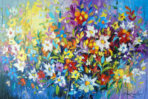 'Tango of summer flowers' by Olha Darchuk