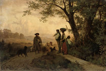 Returning Shepherd  von Karl Schlesinger