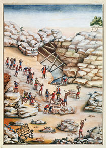 Diamond Mining in Brazil  von Carlos Juliao