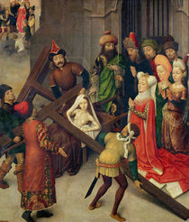 St. Helena and the Miracle of the True Cross  by Simon Marmion