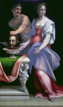 Salome with the head of St. John the Baptist von Cesare da Sesto