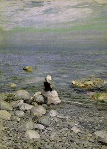 On the Shore of the Black Sea von Konstantin Alekseevich Korovin