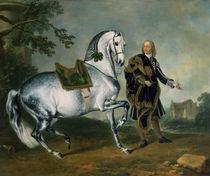 The Dappled Horse 'Scarramuie' en Piaffe  von J.G. Hamilton