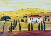 Südliche Toskana/Southern Tuscany von Christine Huwer