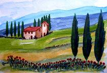 Schöne Toskana/Beautiful Tuscany von Christine Huwer