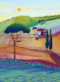 Die Toskana ist schön/schoen von Christine Huwer