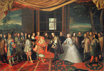 Meeting between Louis XIV  von Laumosnier