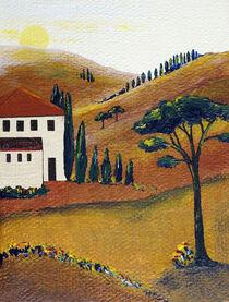 Die Farben der Toskana von Christine Huwer