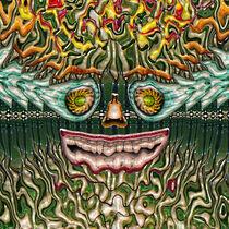Melting Glass Face von Phil Perkins