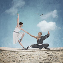 The Dance of Opposites or Yin Yang Dance by Paula  Belle Flores