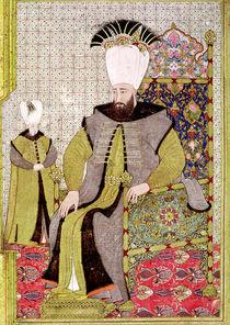 Sultan Ahmet III  by Levni