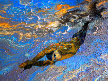 The Art Of Free Diving 01 von Miki de Goodaboom