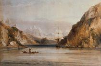 HMS 'Beagle' in the Murray Narrows von Conrad Martens
