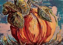 Leafy Pumpkin by eloiseart