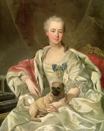 Princess Ekaterina Golitsyna  by Louis Michel van Loo