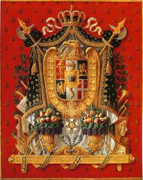 Coat of Arms of Italy von Louis Saint-Ange-Desmaisons