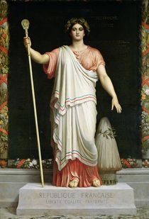 Allegory of the Republic by Dominique Louis Papety
