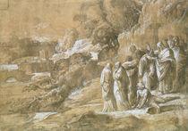 The Raising of Lazarus  by Polidoro da Caravaggio