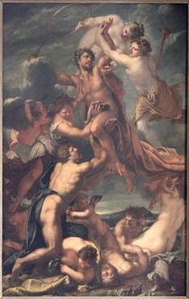 Apotheosis of Emperor Leopold I of Austria  by Pietro Liberi
