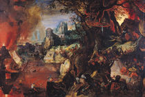 The Temptation of St. Anthony  by Pieter Schoubroeck