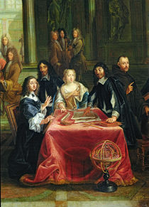 Christina of Sweden  by Pierre-Louis the Younger Dumesnil
