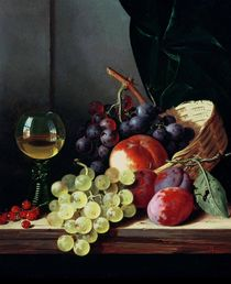 Grapes and plums  von Edward Ladell