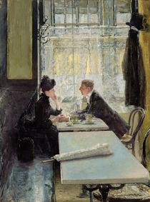 Lovers in a Cafe  von Gotthardt Johann Kuehl