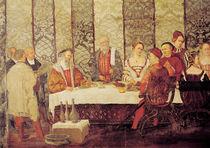 Banquet Given by Bartolomeo Colleoni  von Marcello Fogolino