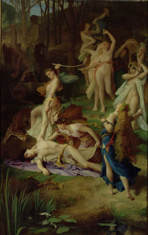 The Death of Orpheus von Emile Levy
