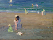 The Beach by Emmanuel Phillips Fox