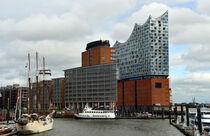 Hamburg, Blick zur HafenCity von Ulrich Senff