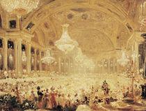 Dinner at the Tuileries  von Eugene Emmanuel Viollet-le-Duc