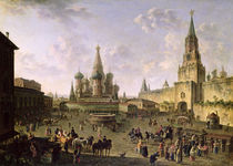 Red Square von Fedor Yakovlevich Alekseev