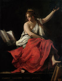 Calliope by Giovanni Baglione