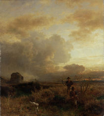 Clearing Thunderstorm in the Countryside by Oswald Achenbach