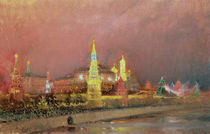 Illumination in the Kremlin by Nikolai Nikolaevich Gritsenko