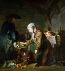 Preparing a Meal  by Nicolas-Bernard Lepicie