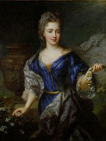 Marie-Anne de Bourbon  von Nicholas de Largilliere