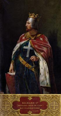 Richard I the Lionheart  von Merry Joseph Blondel