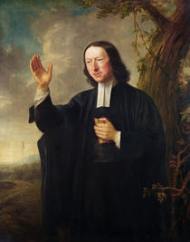 Portrait of John Wesley von Nathaniel Hone